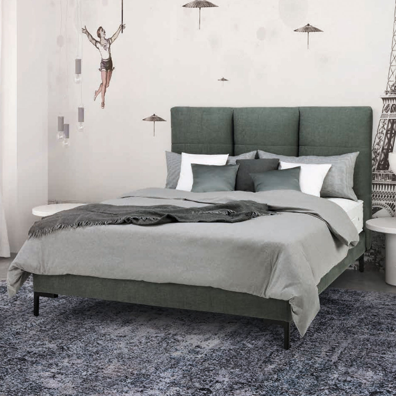"TRECA PARIS - Boxspringbett ""24Seven - Moon"""