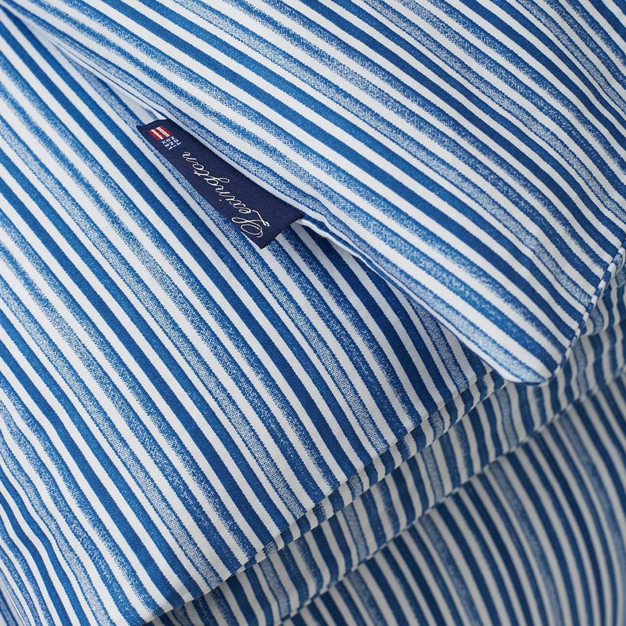 "LEXINGTON COMPANY - Bettwäsche Garnitur ""Blue Striped """
