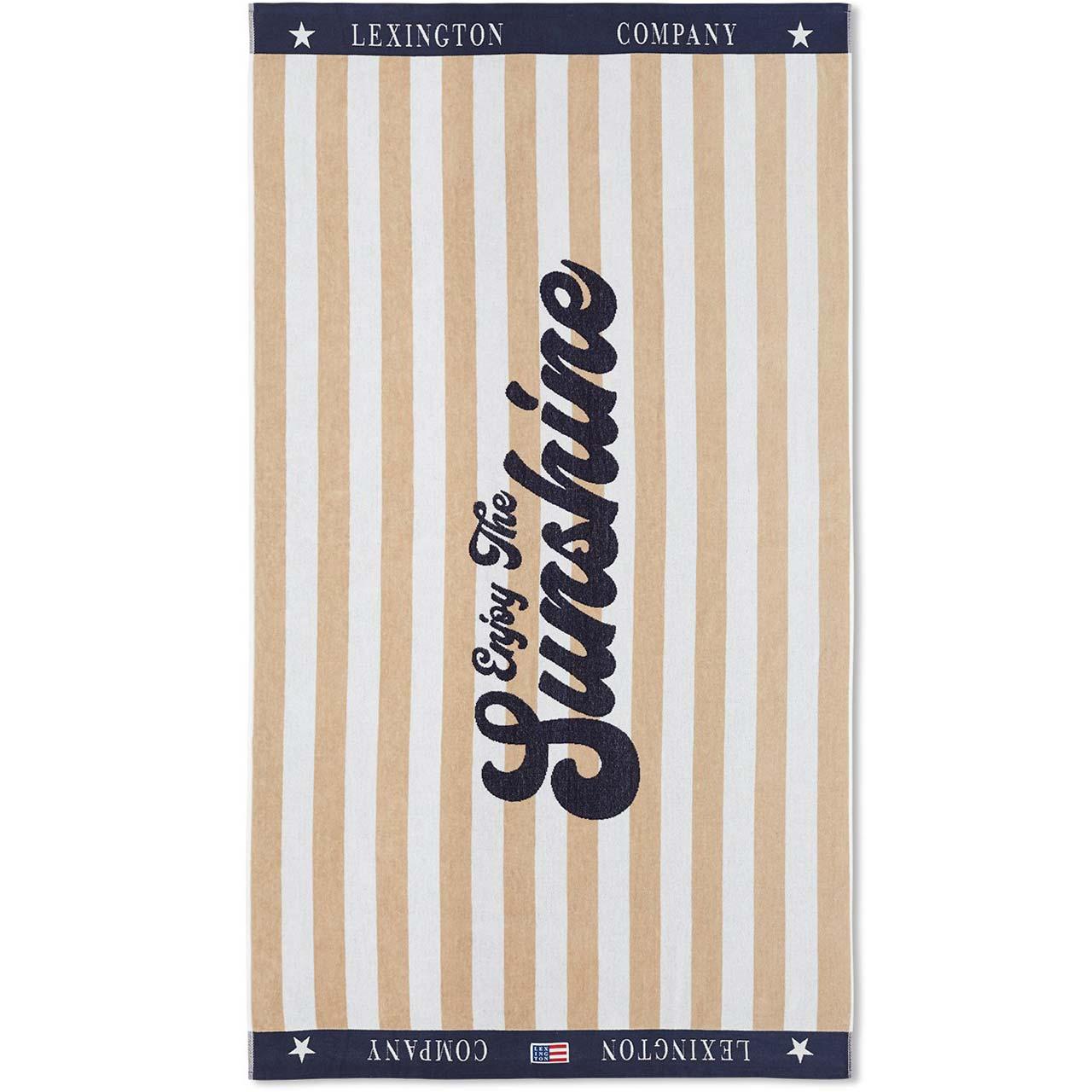"LEXINGTON COMPANY -  Strandtuch ""Graphic Cotton Velour"""