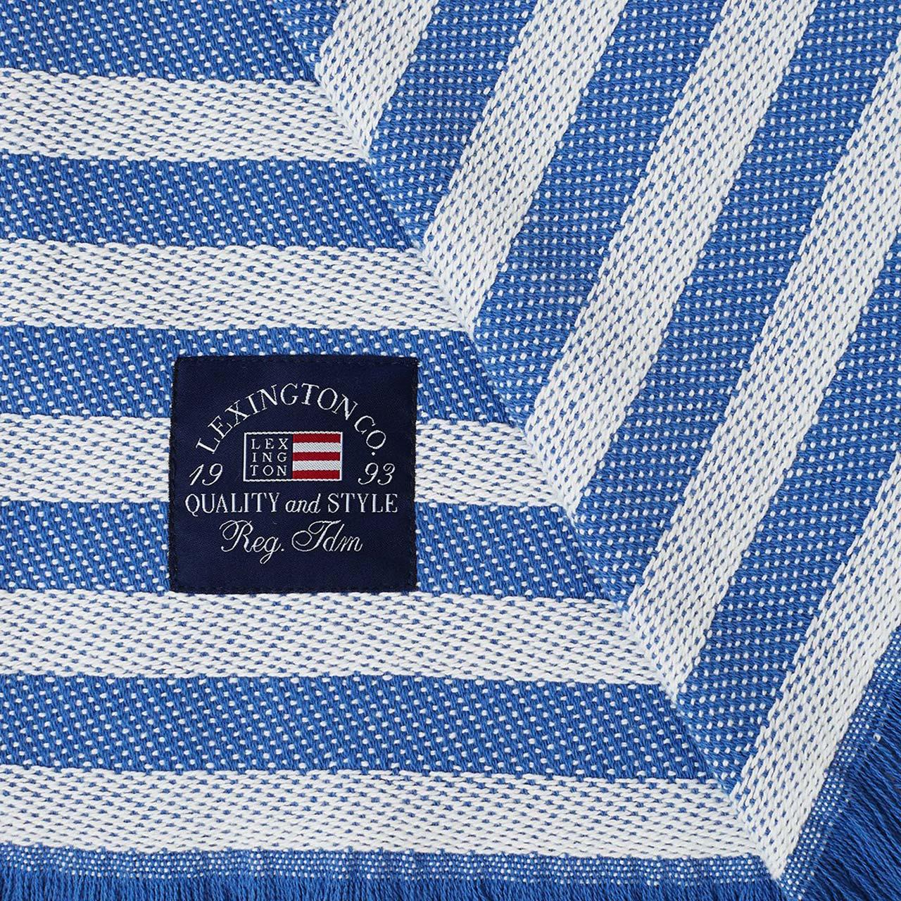 "LEXINGTON COMPANY - Plaid ""Striped Recycled Cotton"""