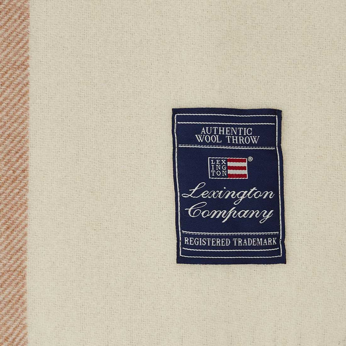 """LEXINGTON COMPANY - Plaid """"Checked recycled wool"""""""