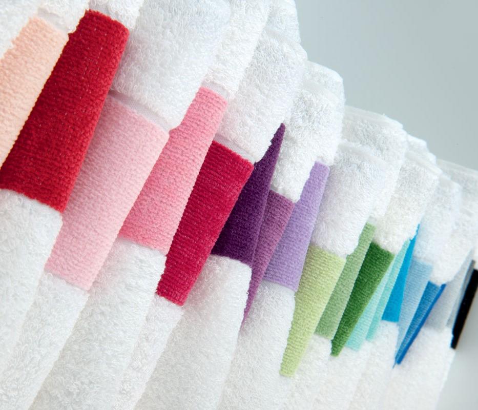 """Duschtücher """"Exclusiv Bordüre"""" von Feiler Gemany in großer Farbvielfalt"""