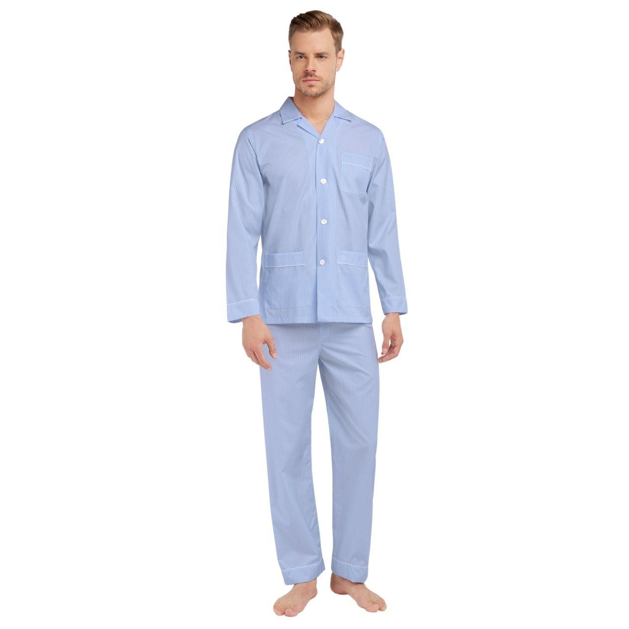 """VAN LAACK - Herren-Pyjama """"Carlo-P"""" gestreift"""